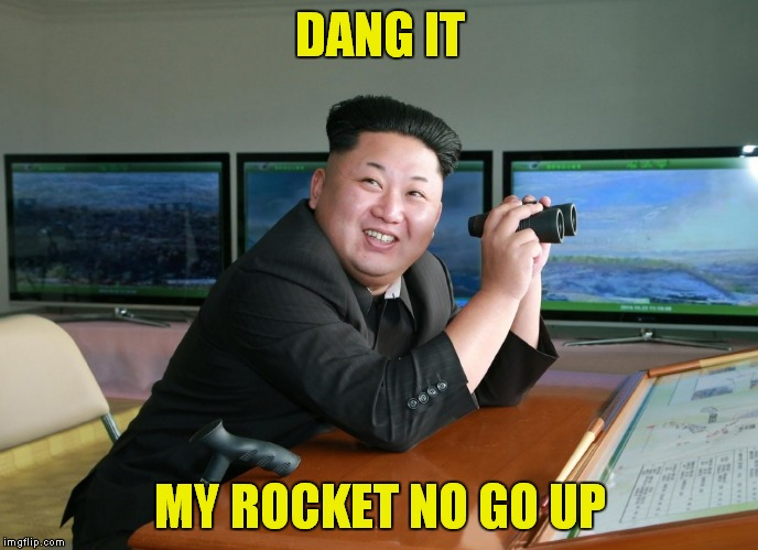 DANG IT MY ROCKET NO GO UP | made w/ Imgflip meme maker