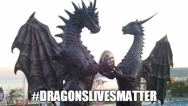 dragon couple | #DRAGONSLIVESMATTER | image tagged in dragon couple | made w/ Imgflip meme maker