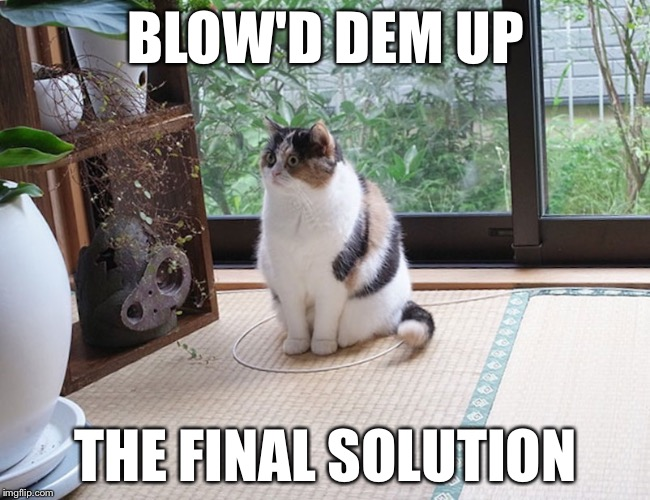 BLOW'D DEM UP THE FINAL SOLUTION | made w/ Imgflip meme maker