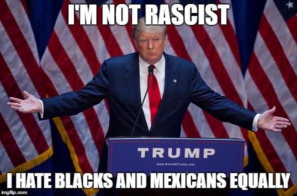 Image result for trump hate blacks