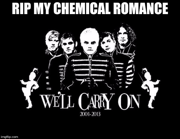 wednesday, march 22nd 2013. The day the music died. |  RIP MY CHEMICAL ROMANCE | image tagged in my chemical romance,rip,mcr,rest in peace,ugly emo sobbing | made w/ Imgflip meme maker