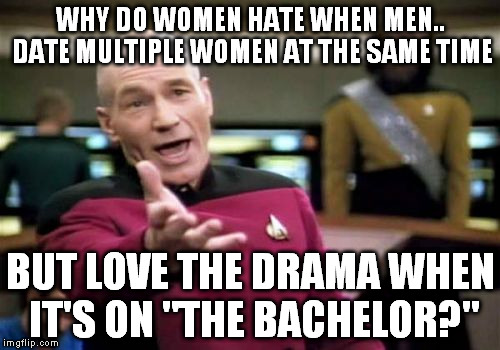 why men date multiple women
