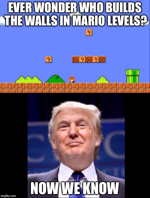 Funny Memes Mario : Ok they re not really walls but if i said it any other