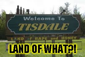 I don't think we should be here | LAND OF WHAT?! | image tagged in funny,signs/billboards,memes,rape | made w/ Imgflip meme maker