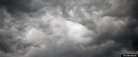 Gloomy Weather Blank Template