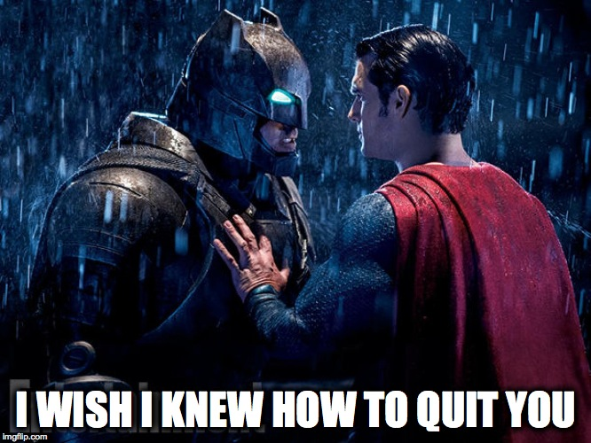 The Thoughts I Thinkily Thunked Whilst Watching Batman Vs. Superman: Dawn Of Justice (Ultimate Edition)