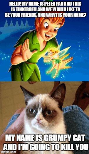 Grumpy Cat Friends Meme