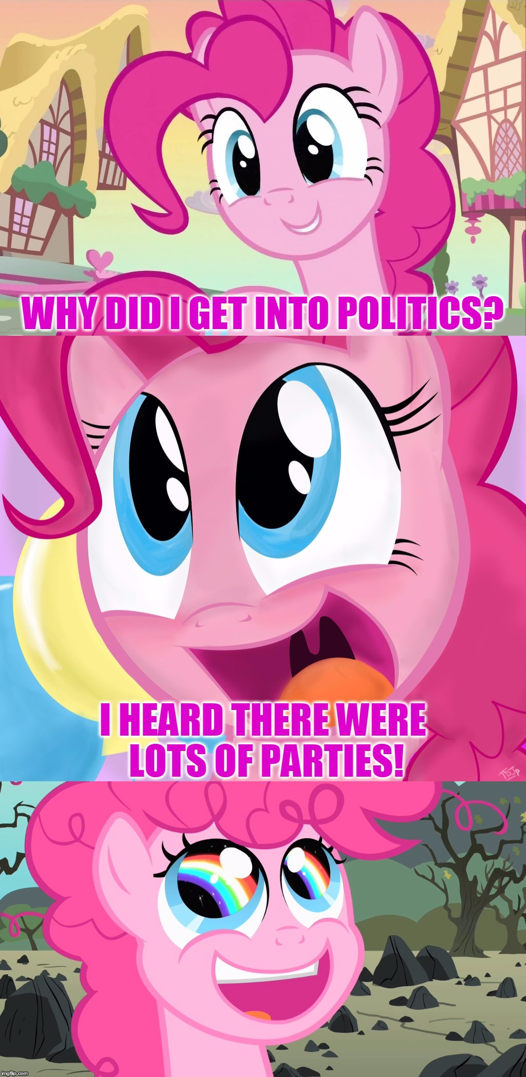 Pinkie Pie Memes Gifs Imgflip