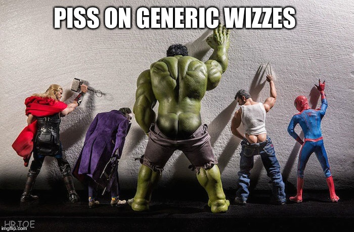 PISS ON GENERIC WIZZES | made w/ Imgflip meme maker