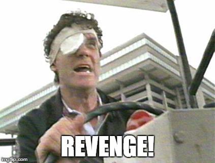 Revenge! | REVENGE! | image tagged in a fish called wanda,michael palin,revenge | made w/ Imgflip meme maker