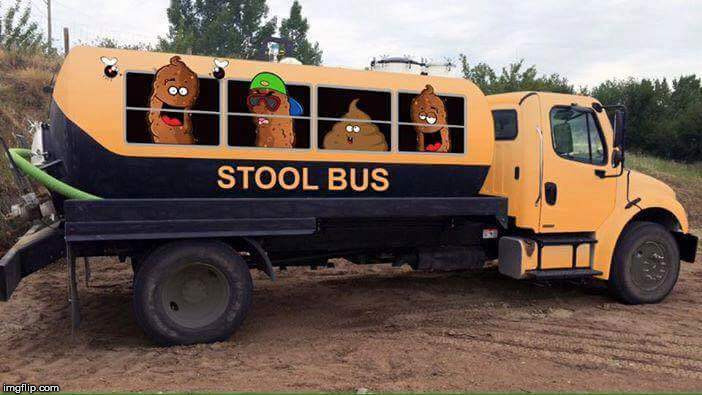 Stool Bus | image tagged in school,school bus,funny,memes,kids,hilarious | made w/ Imgflip meme maker