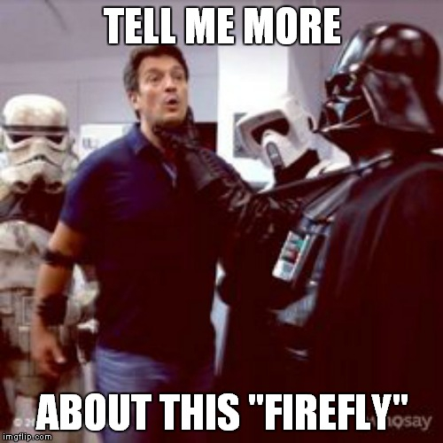 "No room for ""Serenity"" in the darkside 