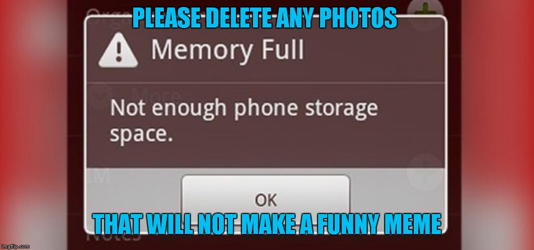 PLEASE DELETE ANY PHOTOS THAT WILL NOT MAKE A FUNNY MEME | made w/ Imgflip meme maker