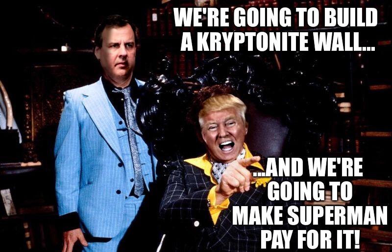 Trump Christie As Lex Otis Imgflip