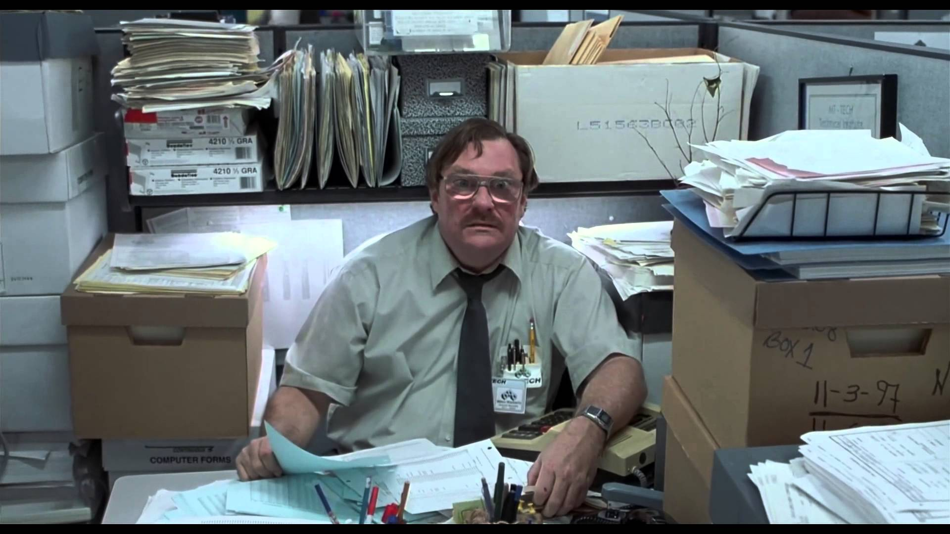 office space computer. High Quality Office Space Blank Meme Template Computer