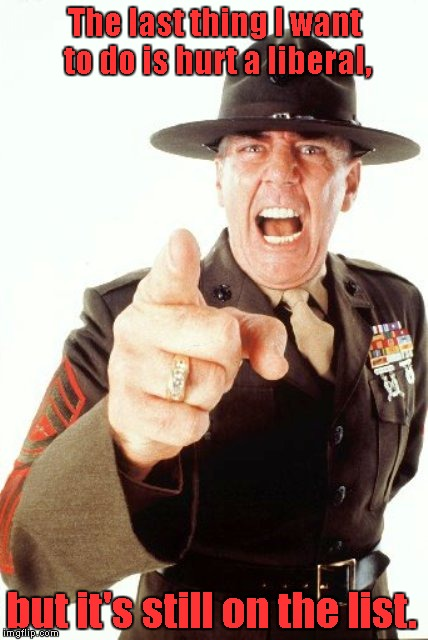 R Lee Ermey Meme Last thing I want to d...