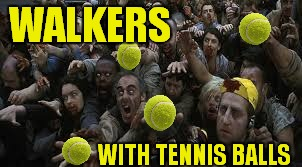 WALKERS WITH TENNIS BALLS | made w/ Imgflip meme maker