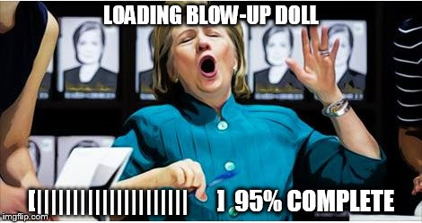 11lx77 hillary blow up doll imgflip