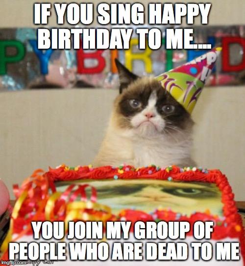 Grumpy Cats Birthday