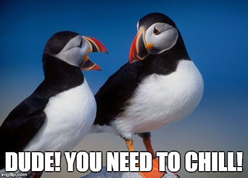 DUDE! YOU NEED TO CHILL! | made w/ Imgflip meme maker