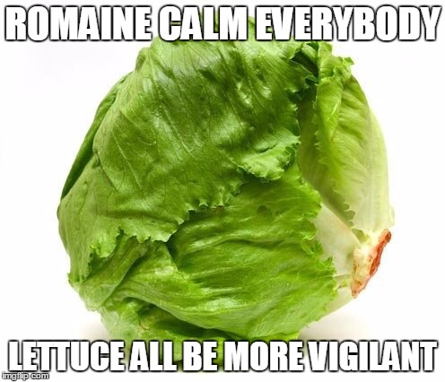 Image result for lettuce meme