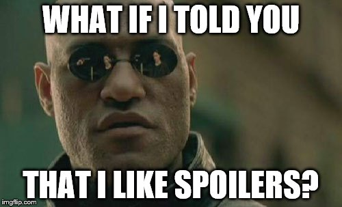 """Spoilers"" 