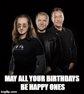b-day1 | MAY ALL YOUR BIRTHDAYS BE HAPPY ONES | image tagged in rock and roll | made w/ Imgflip meme maker