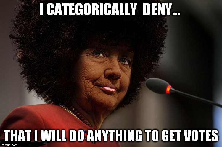 I CATEGORICALLY  DENY... THAT I WILL DO ANYTHING TO GET VOTES | made w/ Imgflip meme maker