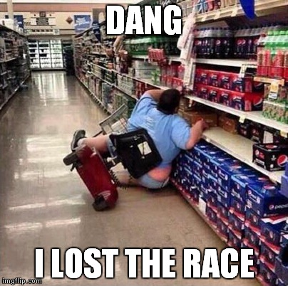 DANG I LOST THE RACE | made w/ Imgflip meme maker