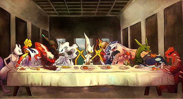 11wyhn the last supper pokemon edition blank template imgflip