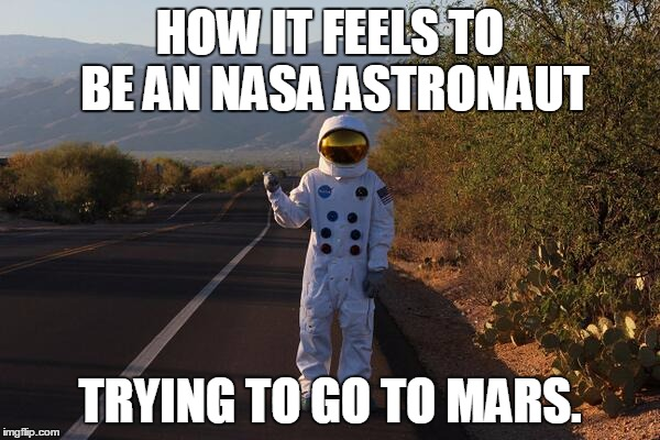 astronaut in space meme - photo #8