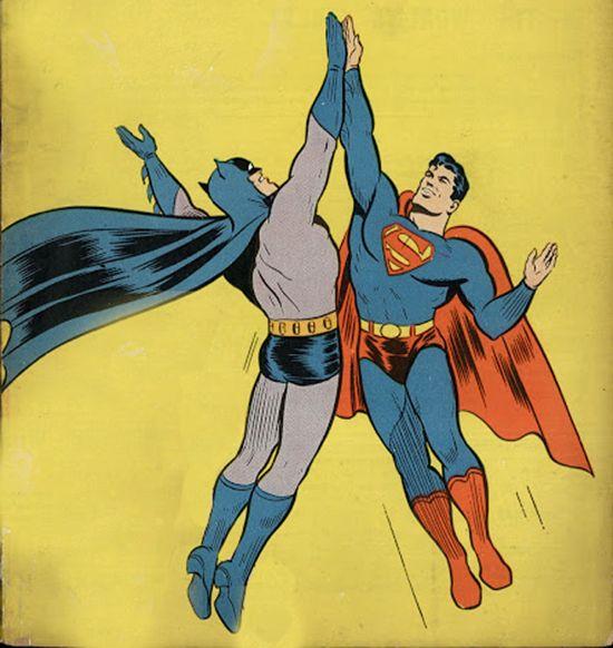 Batman superman high f...