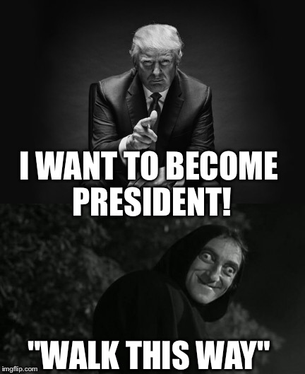 "Election day |  I WANT TO BECOME PRESIDENT! ""WALK THIS WAY"" 