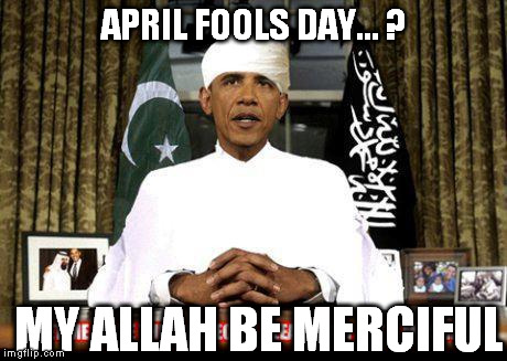 APRIL FOOLS DAY... ? MY ALLAH BE MERCIFUL | made w/ Imgflip meme maker