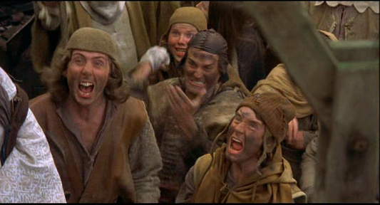 Image result for monty python witch scene