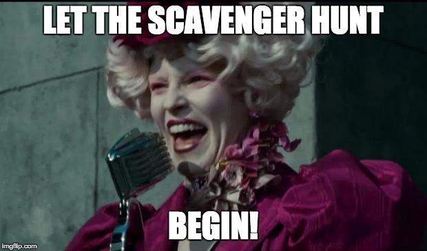 1212td e107 u3d5 genre scavenger hunt,Scavenger Hunt Meme