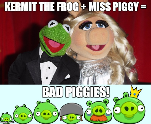 It All Makes So Much Sense Now! | WHEN YOU POST YOURPICTURE ON TWITTER BUT IT TURNS OUT TO BE YOU AS A FAT KID LOVING ANGELA | image tagged in memes,bad piggies,kermit the frog,miss piggy,oh my god,funny | made w/ Imgflip meme maker