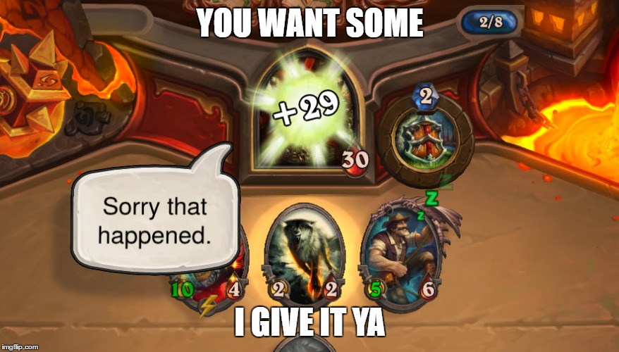 hearthstone bad matchmaking Metacritic game reviews, hearthstone: but hearthstone has no matchmaking at the game is designed and programmed to make you feel bad so long you try to pay to.