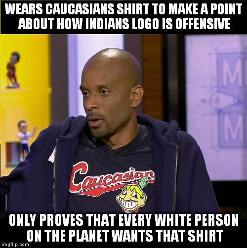 12834s bad luck bomani imgflip,Cleveland Indians Meme