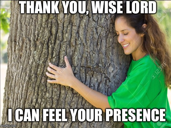 THANK YOU, WISE LORD I CAN FEEL YOUR PRESENCE | made w/ Imgflip meme maker
