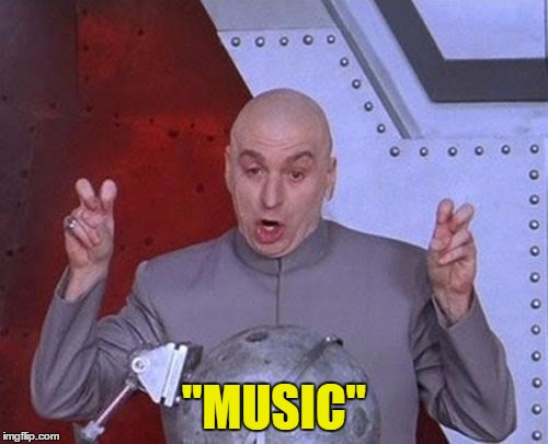 "So apparently this is what you get when you tune into most radio stations, these days... :/ | ""MUSIC"" 