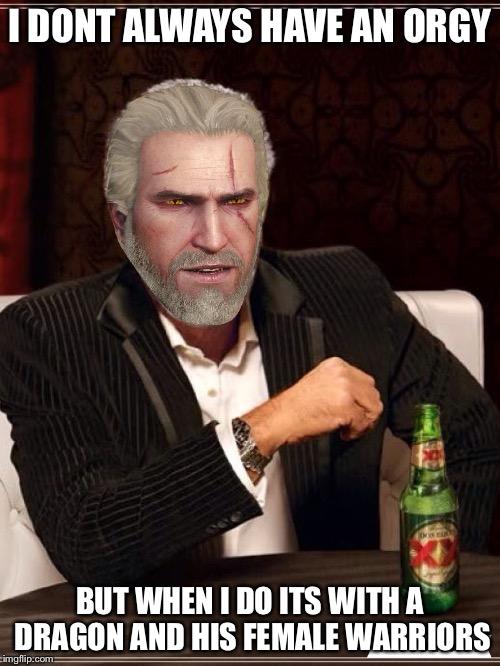 Geralt Of Rivia Memes Gifs Imgflip