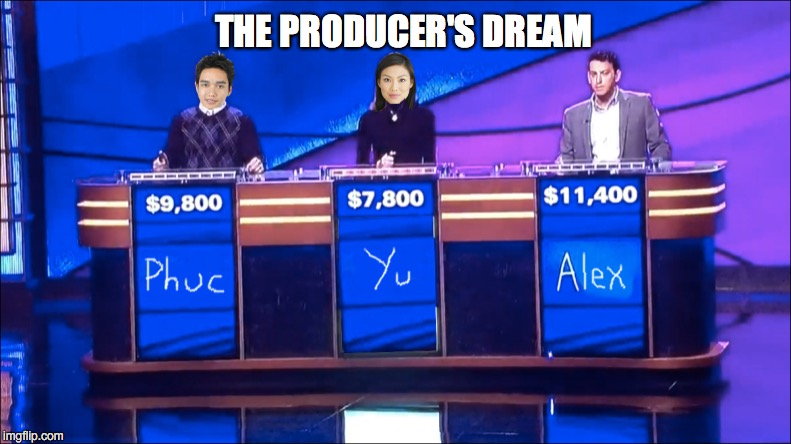 Ooh, That One Hurts | THE PRODUCER'S DREAM | image tagged in sean connery jeopardy,jeopardy,snl jeopardy sean connery | made w/ Imgflip meme maker