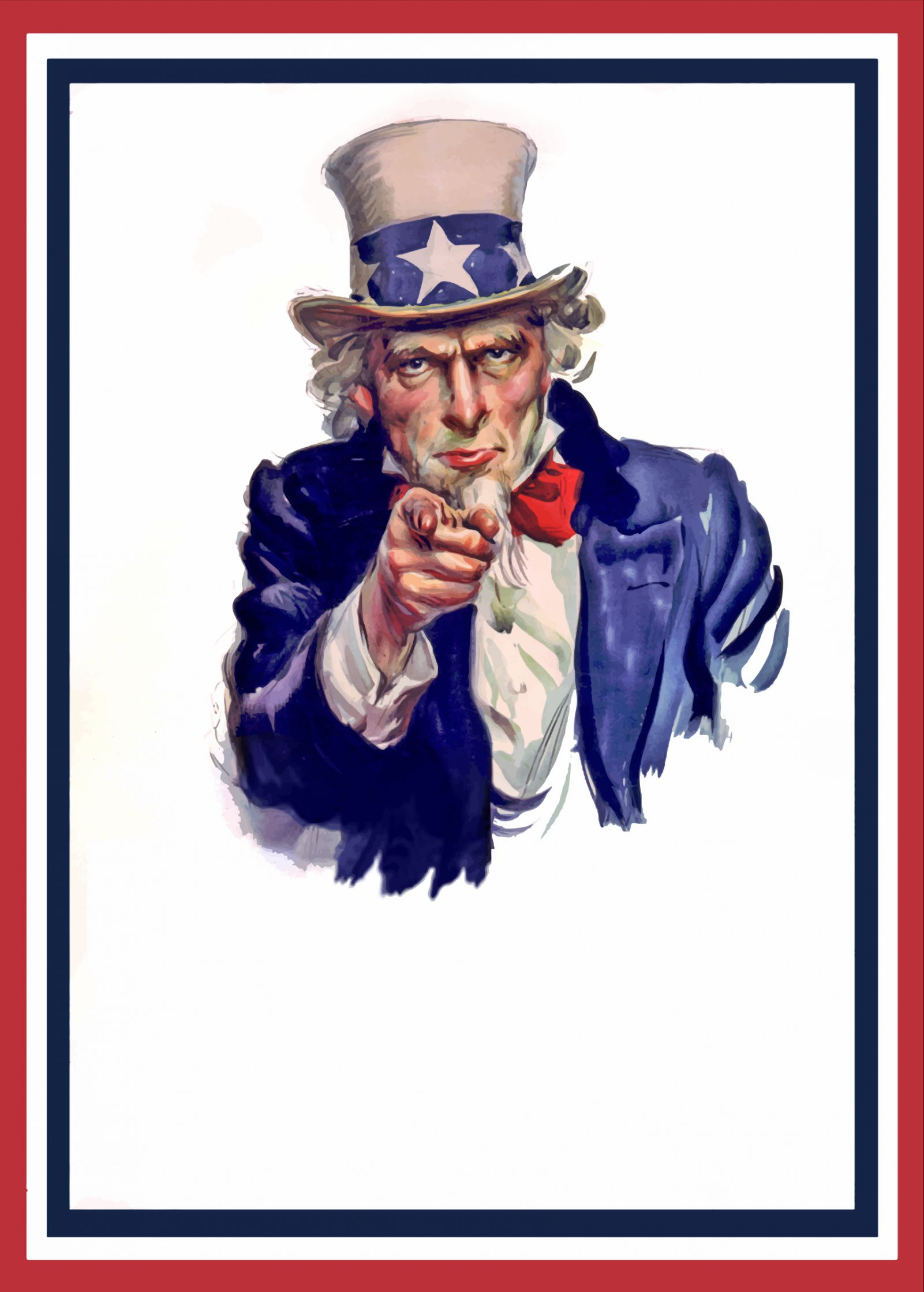 uncle sam poster blank template imgflip