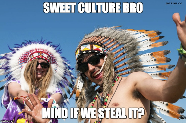 Mind if we steal it | SWEET CULTURE BRO MIND IF WE STEAL IT? | image tagged in cultural appropriation,hipster | made w/ Imgflip meme maker