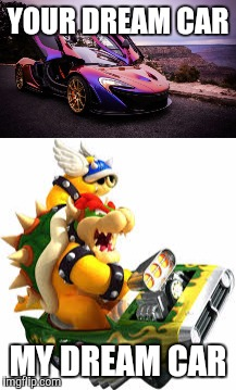 Image Tagged In Mario Kart Bowser Blue Shell Imgflip