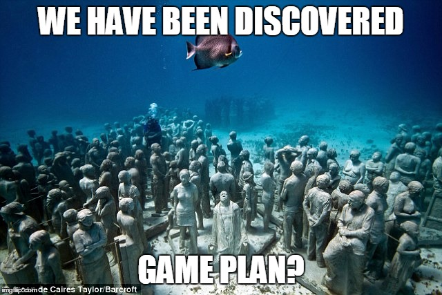 WE HAVE BEEN DISCOVERED GAME PLAN? | made w/ Imgflip meme maker
