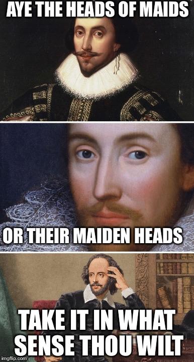12inhd bad pun shakespeare imgflip,Romeo And Juliet Meme