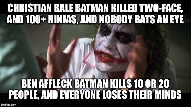 Why Batman V Superman Haters Are Hypocrites Imgflip