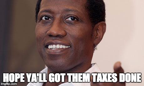 Image result for wesley snipes tax meme